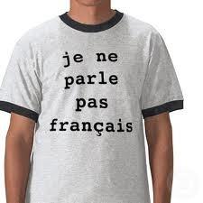 я не говорю по французски