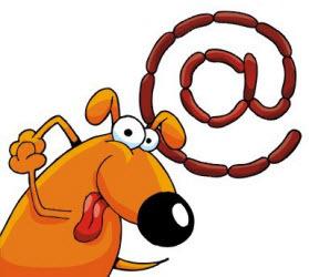 Когда у собаки есть будка и миска, Ошейник, луна и в желудке сосиска, И каждому ясно, что эта собака Не круглая сирота.