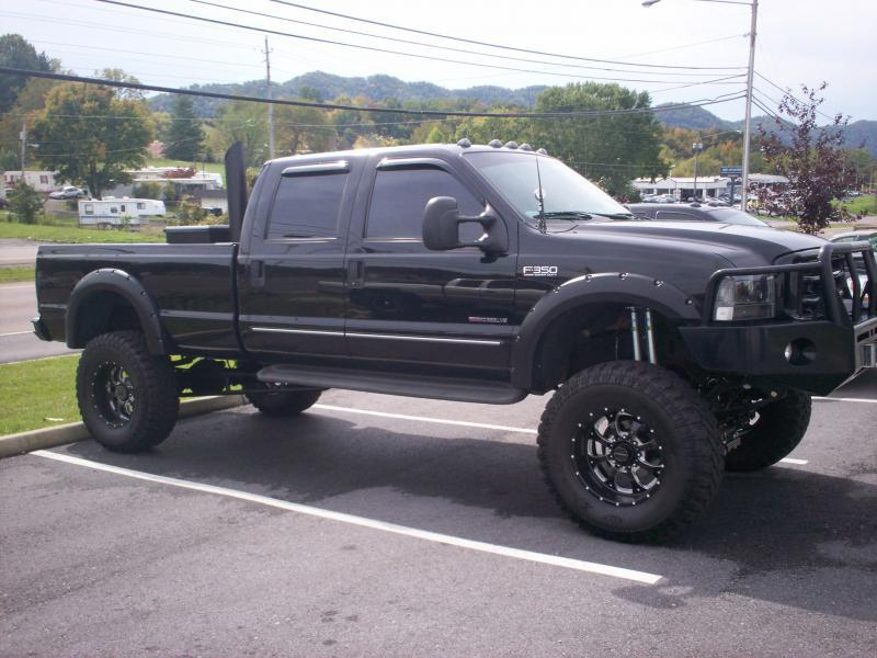 Lifted F350
