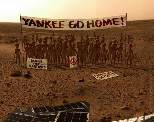 землю всю засрем, потом махнем на марс