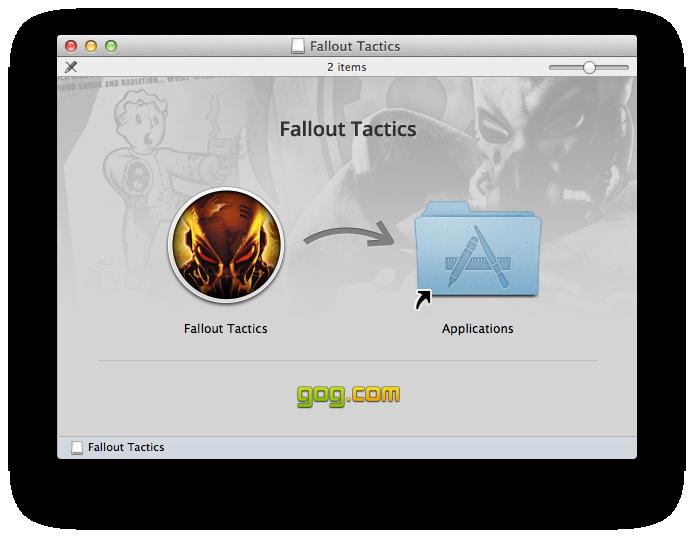 Fallout Tactics for mac