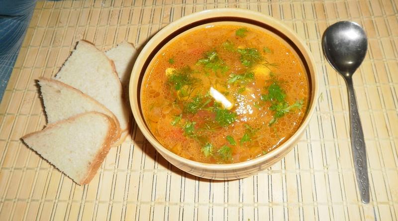 Китайский суп Стрипкода-Лебедева